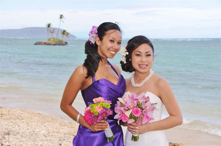 Hawaii Wedding Vendors - Flowers & Bouquets