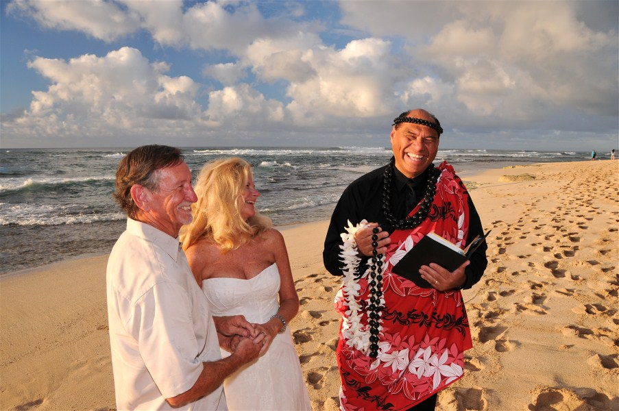 Hawaiian Wedding Ministers